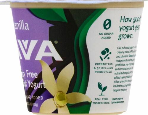 Lavva Vanilla Plant-Based Yogurt Perspective: right