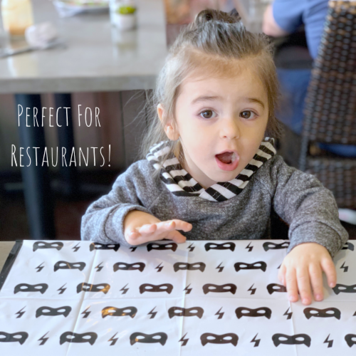Disposable Placemats - 60 pack Perspective: right