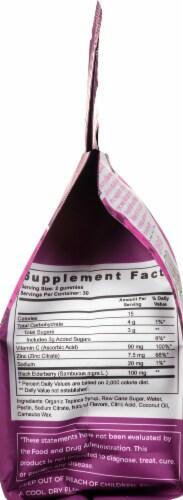 vitafive Elderberry for Immunity Gummies 60 Count Perspective: right