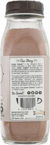Leaner Creamer Mocha Coconut Oil Coffee Creamer Perspective: right