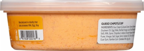 Salsa Queen Queso Chipotle Dip Perspective: right