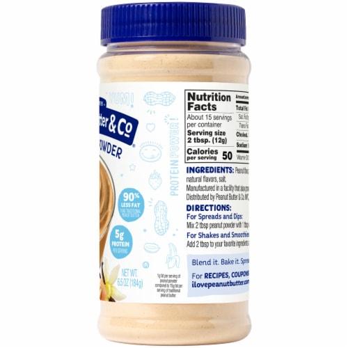 Peanut Butter & Co. Vanilla Peanut Powder Perspective: right
