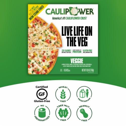 Caulipower Stone-Fired Veggie Cauliflower Crust Pizza Perspective: right