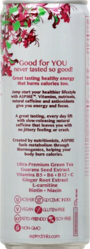 Aspire Healthy Energy Calorie Burning - Dark Cherry Lime Perspective: right