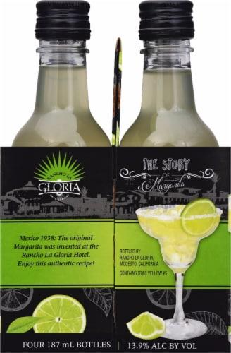 Rancho La Gloria Ready to Drink Margarita Wine Cocktail Perspective: right