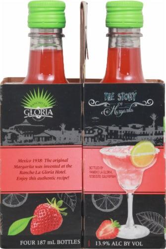 Rancho La Gloria Strawberry Margarita Perspective: right