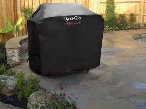 Dyna-Glo 4 Burner Premium Gas Grill Cover Perspective: right