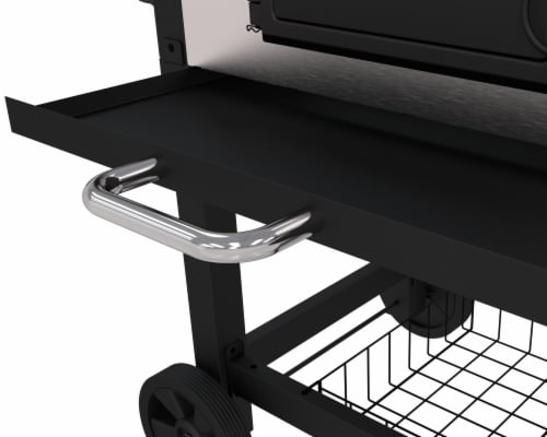 Dyna-Glo Large Premium Charcoal Grill Perspective: right