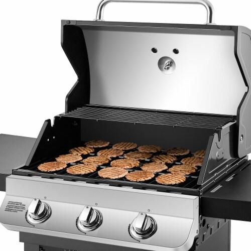 Dyna-Glo Premier 3-Burner Propane Gas Grill Perspective: right