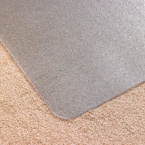 Floortex Cleartex Advantagemat 48 x 60  Vinyl Office or Home Floor Chair Mat Perspective: right