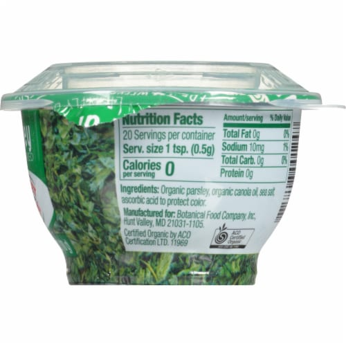 Gourmet Garden Organic Lightly Dried Parsley Perspective: right