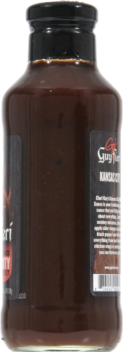 Guy Fieri Kansas City Barbecue Sauce Perspective: right