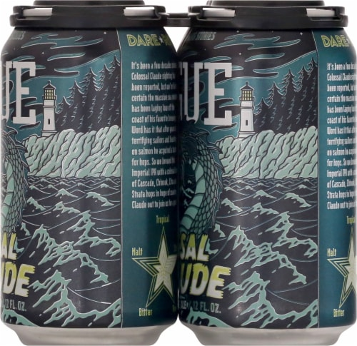 Rogue Colossal Claude Imperial IPA Perspective: right