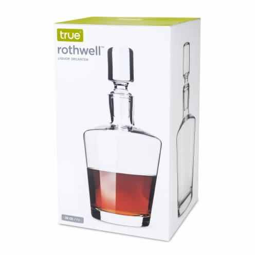 Rothwell™: Liquor Decanter Perspective: right