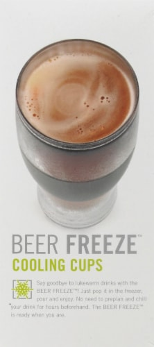 Host Cooling Series Beer Freeze Cooling Cups Perspective: right