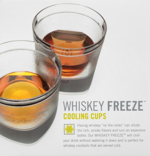 Host Whiskey Freeze Cooling Cups Perspective: right