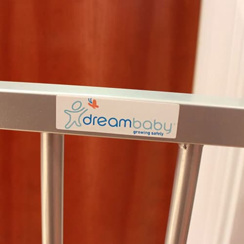 Dreambaby L894S Dawson 28 to 32 Inch Auto-Close Stay Open Security Gate, Silver Perspective: right