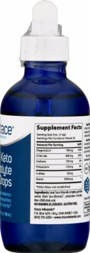 Trace Minerals Research Keto Electrolyte Drops Perspective: right