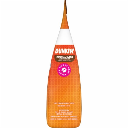 Dunkin' Donuts Original Blend Whole Bean Coffee Perspective: right