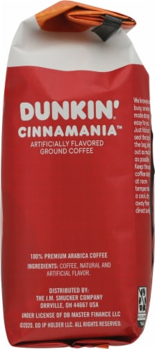 Dunkin'® Cinnamania™ Ground Coffee Perspective: right