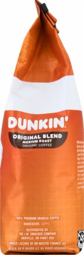 Dunkin' Donuts Original Blend Medium Roast Ground Coffee Perspective: right