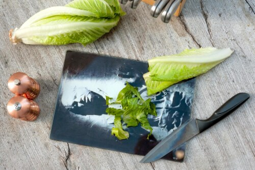 Star Wars Han Solo Frozen in Carbonite Glass Cutting Board Perspective: right