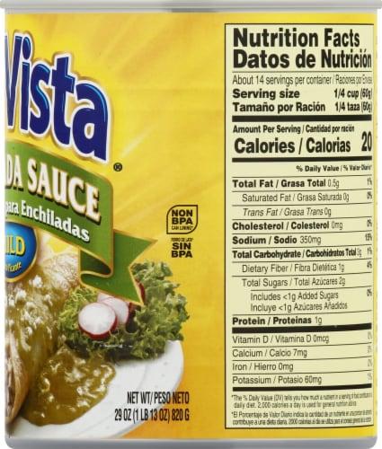 Sun Vista Mild Green Enchilada Sauce Perspective: right