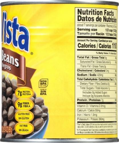 Sun Vista Black Beans Perspective: right