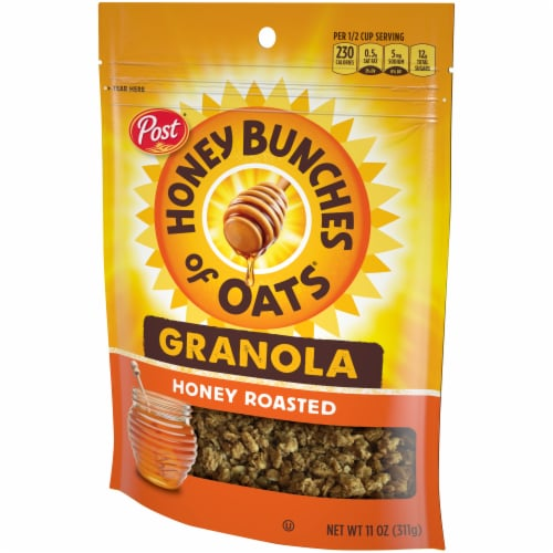 Honey Bunches of Oats Honey Roasted Granola Perspective: right
