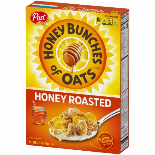 Honey Bunches of Oats Honey Roasted Cereal Perspective: right