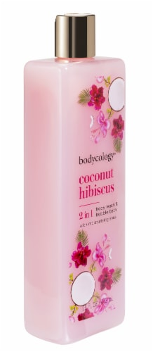 Bodycology Coconut Hibiscus Body Wash & Bubble Bath Perspective: right