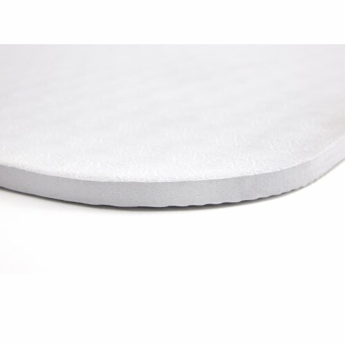Adidas Universal Exercise Slip Resistant Fitness Yoga Mat, 8mm Thick, White Perspective: right