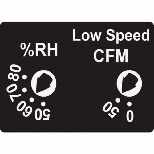 Delta 100cfm Humdsnsr Bath Fan 100HS Perspective: right