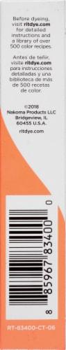 Rit® All-Purpose Tangerine Powder Dye Perspective: right