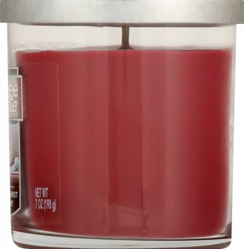 Yankee Candle® Home Sweet Home Tumbler Candle - Burgundy Perspective: right