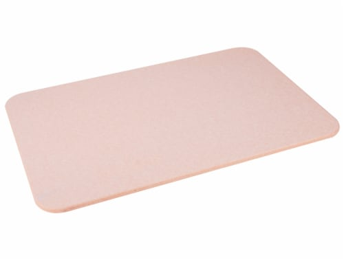 Mind Reader Diatomite Fast Drying Bath Mat - Pink Perspective: right