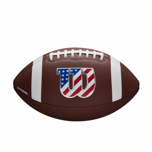 Wilson W Legend Official Football Perspective: right