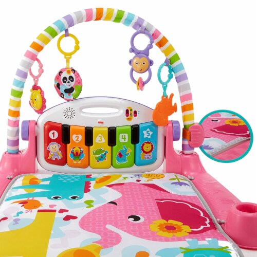 Fisher-Price® Kick & Play Piano Baby Playset Perspective: right