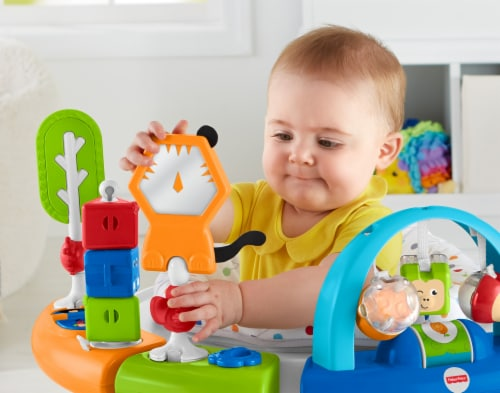 Fisher-Price® Retro Roar 3-in-1 Spin & Sort Activity Center Perspective: right