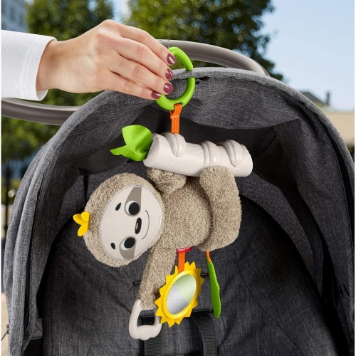 Fisher-Price® Slow Much Fun Stroller Sloth Perspective: right