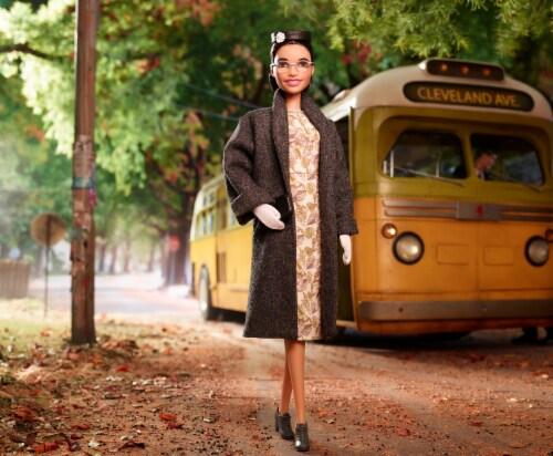 Mattel Barbie® Inspiring Women Rosa Parks Doll Perspective: right