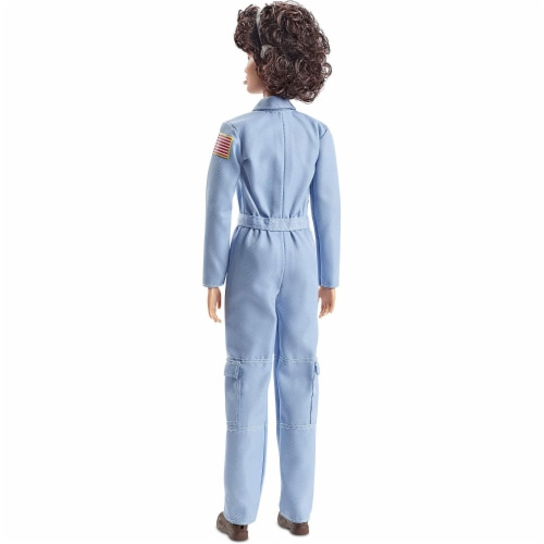 Barbie Inspiring Women Sally Ride Tribute Astronaut Doll with Full Flight Suit Perspective: right