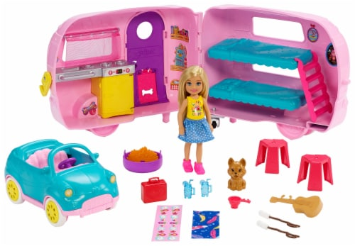 Mattel Barbie® Club Chelsea Camper and Accessories Perspective: right