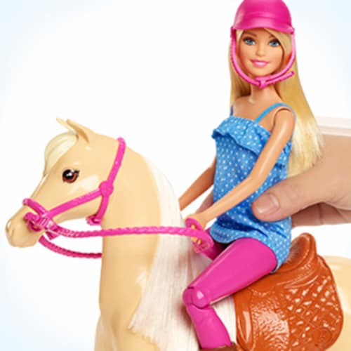 Mattel Barbie® Doll and Horse Set Perspective: right