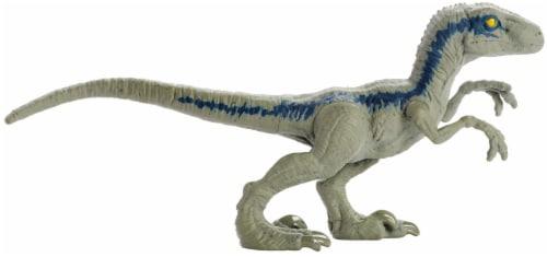 Mattel Jurassic World Blue Velociraptor Action Figure Perspective: right