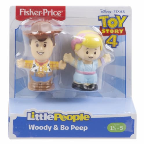 Little People Toy Story Figures - Woody & Bo Peep Perspective: right
