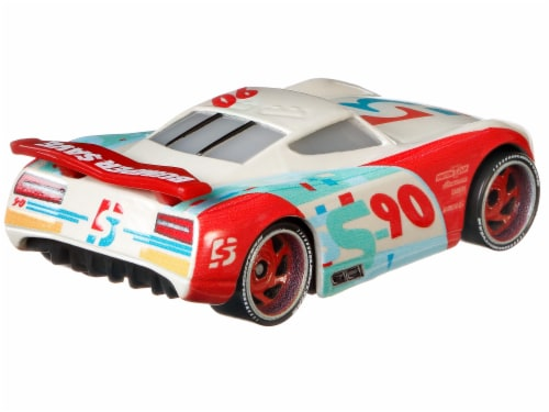 Disney Pixar Cars Jackson Storm & Paul Conrev Toy Racers Perspective: right