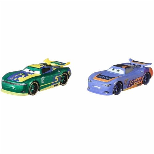 Disney Pixar Cars Eric Braker and Barry DePedal Toy Racers Perspective: right