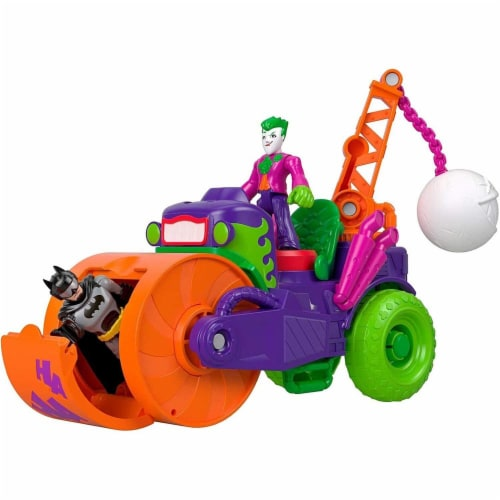 Fisher-Price® Imaginext DC Super Friends The Joker Steamroller Vehicle Perspective: right