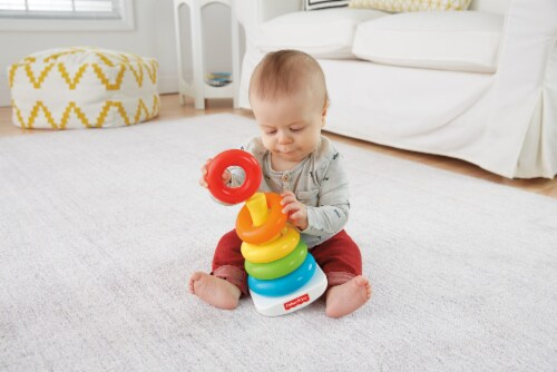 Fisher-Price® Rock-A-Stack Baby Toy Perspective: right